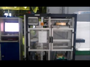Tape-stasjon for stabling av EPS kasser